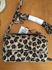 Vera Bradley All In One Ctossbody For Iphone 6 Leopard NWT