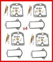 KR Carburetor Carb Rebuild Repair Kit x4 KAWASAKI KZ Z 1000 Police KK-0076