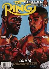 THE RING BIBLE OF BOXING JULY 2018 NEW MAGAZINE ROAD TO UNDISPUTED