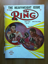 The Ring The heavyweight issue July 1954Cover Rocky Marciano E. Charles - E16784