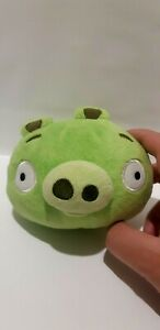 """Angry Birds LEONARD AND THE PIGS Green Pig ROVIO Plush Toy 10cm / 3.9"""""""