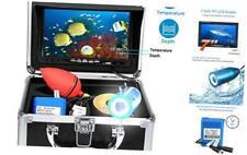 Portable Underwater Fishing Camera with Depth Temperature Display-Waterproof Hd