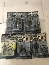 Lot Of 5 Elite Force Action Figures Navy Army Navy Seals & 2 Paratroopers NIP