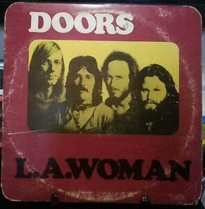 THE DOORS L.A. Woman Album Released 1971 Vinyl Collection USA