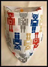 Baby Boy Dribble Bib Bibs I Robot Transformers Fabric Food Burp Nappy Bandana