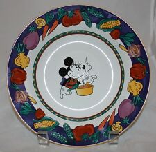 Disney Soup Bowl Rimmed by Fine China of China Vegetable Rim Minnie Mouse center