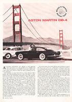 1962 Aston Martin DB4 DB-4 - Road Test -  Classic Article A80-B