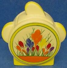 MOORLAND POTTERY ART DECO CROCUS PATTERN SUGAR BOX WITH LID OR SUCRIER