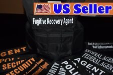 FUGITIVE RECOVERY / 3A SIZE XL Body Armor Bullet Proof / Stab Proof Vest NEW!!!
