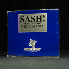 Sash - Move Mania - Featuring Shannon - music cd EP