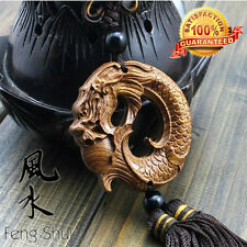 Natural Rosewood-FengShui Dragon Lucky Amass Fortunes Collection