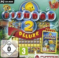 FISHDOM 2 DELUXE (PC CD-ROM) - NEU & SOFORT