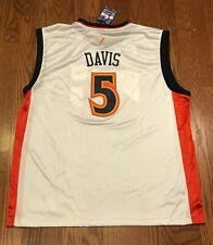 Vintage BARON DAVIS #5 Golden State Warriors Adidas Authentic Jersey NBA XXL NWT