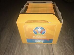Panini UEFA Euro 2020 Sticker Collection (x100 Packs)Contains Opened Display Box