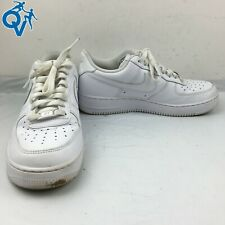 Nike Men's Air Force 1 '07 'Triple White' Lifestyle Shoes Size US 9 [E-4]