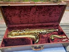 1952 Conn 10M Naked Lady Tenor Saxophone - ORIGINAL CASE - VERY NICE CONDITION!