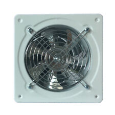 6'' Metal Shutter Exhaust Fan Wall Mount Air Vent Exhaust For Kitchen Bathroom