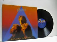 THE POLICE zenyatta mondatta LP EX/VG+, SP 4831, vinyl, album, with inner, 1980,