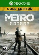 Microsoft Xone METRO EXODUS GOLD DIGITAL GAME Xbox One