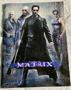 The Matrix Movie Promo Press Kit-Keanu Reeves-No Photos Included