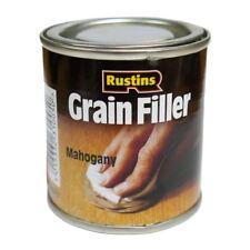 Rustins Mahogany Grainfiller Wood Paste 230gm Grain Filler