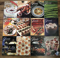 1991 Vintage Gourmet The Magazine of Good Living Lot of 12 Issues (Full Year)