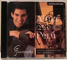 signed Miguel Harth-Bedoya Alma del Peru Orquesta Filarmonica de Lima CD