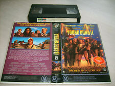 ROBOCOP 2:YOUNG GUNS 2  RARE ROADSHOW DEALER ONLY MAY/JUNE 1991 VHS PREVIEW TAPE