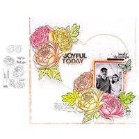 Stanzschablone Chrysantheme Hochzeit Weihnachten Oster Geburtstag Karte Album