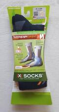 X-Socks Trekking Light Comfort 1 pair charcoal/blue/grigio  size 35/36 new #60