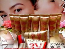 "☾10 PCS☽CLARINS V-Facial Intensive Wrap "" Facial Mask ""◆(Total:80ML)◆""FREE POST"""