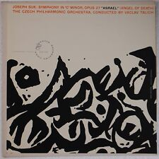 SUK: Symphony C Minor CZECH PHIL Talich ARTIA Vinyl LP NM-