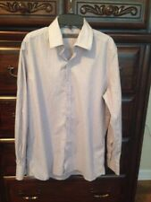 GIVENCHY Men Cotton Multi Color Striped Button Down Long Sleeve Shirt- Size M