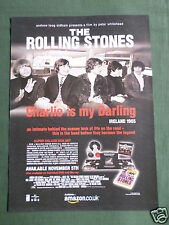 THE ROLLING STONES - MAGAZINE CLIPPING / CUTTING- 1 PAGE ADVERT -DATED 2012