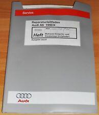 Werkstatthandbuch Audi A6 C5  Motronic Einspritz Zündanlage 2,4l AGA AJG ALF ALW