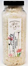 Bath & Body Works Serenity Bath Soak Salt Salts 17 oz Jar Marigold Rose Magnolia