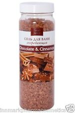 Bath Salt Chocolate & Cinnamon Warming 700g Fresh Juice 2472