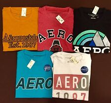NWT Aeropostale Mens T Shirts Lot of 10 XL Extra Large  Worldwide ship Resale