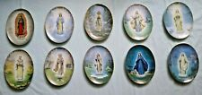 Lot of Ten Visions of Our Lady Collector Plates Hector Garrido Bradford Exchange