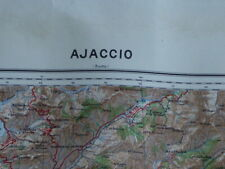 Ajaccio, carte seconde guerre, WW2