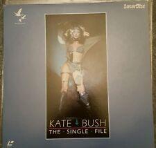 Kate Bush - The Single File Laserdisc Japan Insert  Included / EX+ EX+