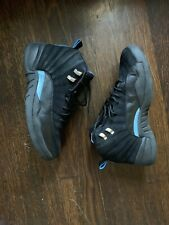 Air Jordan 12 Nubuck University Blue Black Wizards Size 11 XII 2011