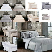 Fancy Sequin Quilt Duvet Cover Bedding Set Double King Super King + Pillow cases