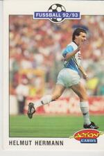 Panini Fussball 92-93 Action Cards #117 Helmut Hermann Karlsruher SC