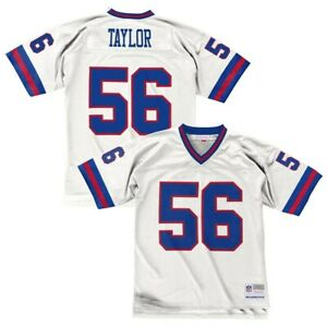 Lawrence Taylor 1986 New York Giants Mitchell & Ness Men NFL White Legacy Jersey