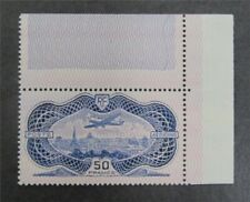 nystamps France Stamp # C15 Mint OG NH $1700   A9y2832