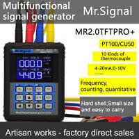 MR2.0TFT-PRO+ Smart Calibrator Current Signal Generator 4-20mA Generator