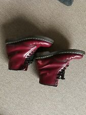 Dr. Martens Docs Boots Stiefel rot 8 Loch 42