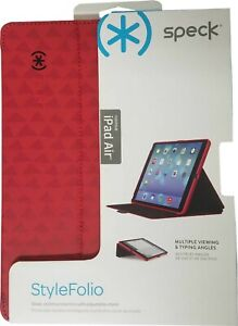 Speck Style Folio Case and Stand for Apple iPad 5th and 6th Generation Poppy Red