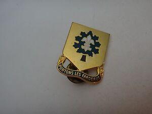 États-Unis Armée 101st Support Bataillon Distinctif Unité Insignes, Fait En USA